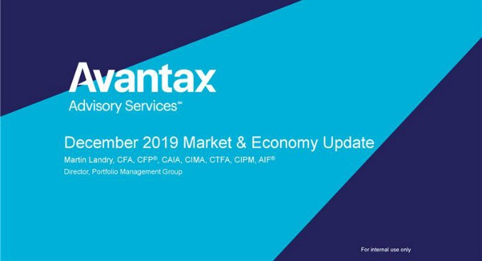December 2019 Market and Economy Update