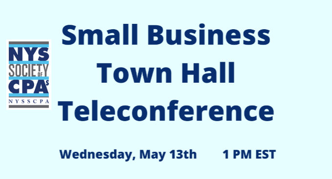 NYSSCPA Small Business Town Hall Summary of Pandemic Related Issues