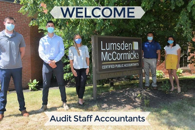 Welcome July 2020 Audit Staff Accountants