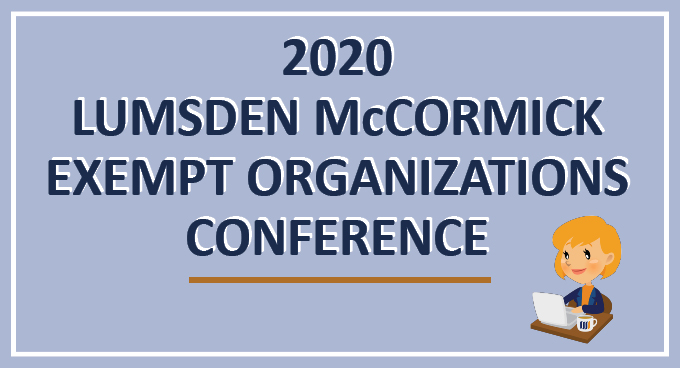 Slides & Recordings Available: 2020 Exempt Conference