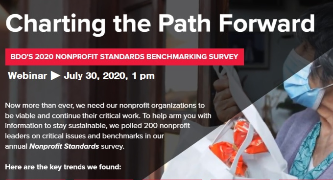 Webinar Available: Clarity in Crisis: Findings from BDO's Nonprofit Benchmarking Survey