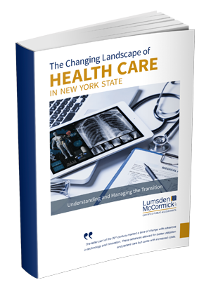 The Changing Landscape of Health Care in New York State