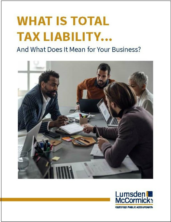 What Is Total Tax Liability… And What Does It Mean for Your Business?