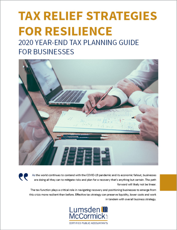 2020 Year-End Tax Planning Guide for Businesses