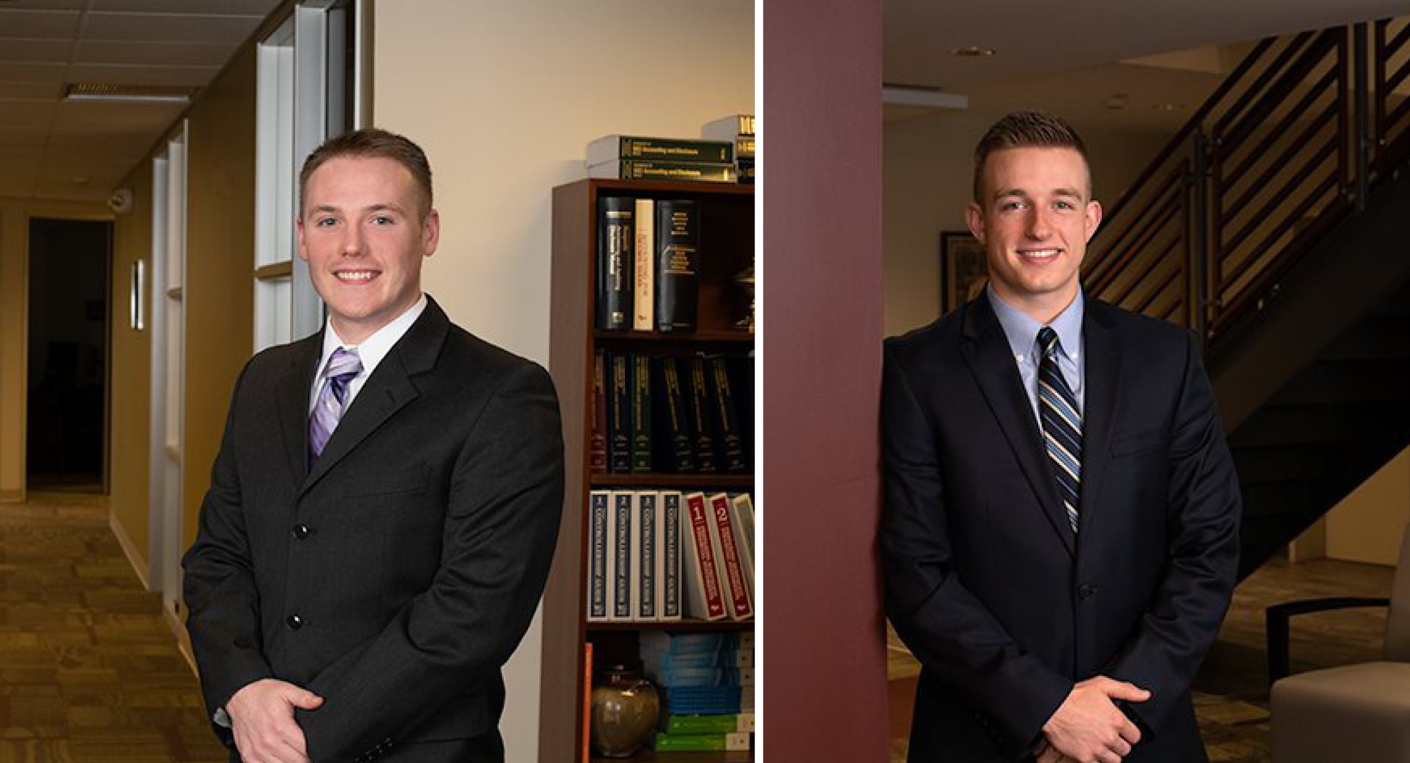 Reid and Darrow Earn CPA Designation